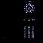 Transept and South Window 1200 restored 1580 1937 Cathedral Reims France 19840823 0028 by Fred Mitchell