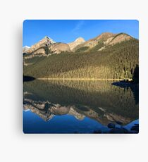 Photograph of Lake Louise in Banff National Park Canvas Print