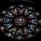 South Window 1200 restored 1580 1937 Cathedral Reims France 19840823 0030  by Fred Mitchell