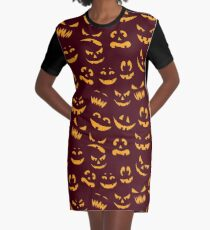 Jack the Candle Graphic T-Shirt Dress