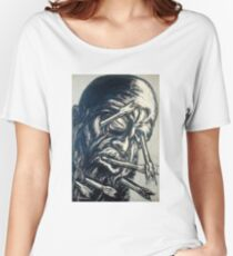 José Clemente Orozco Head Pierced with Arrows Women's Relaxed Fit T-Shirt