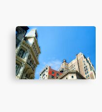 Looking Up NYC Canvas Print