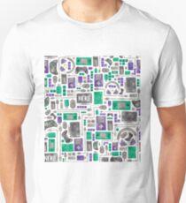 Geek/Nerd/Gamer Pattern T-Shirt