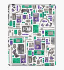 Geek/Nerd/Gamer Pattern iPad Case/Skin