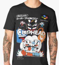 Cuphead Super Famicom Style Men's Premium T-Shirt