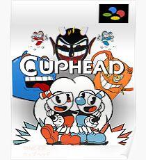 Cuphead Super Famicom Style Poster