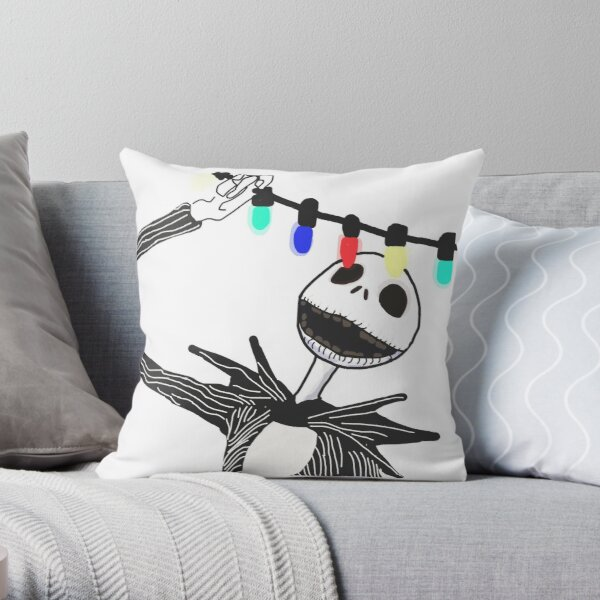 Nightmare before Christmas Throw Pillow