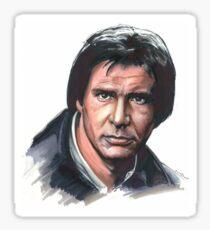 Han Solo - Portrait Sticker