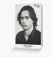 The Disaster Artist Greeting Card