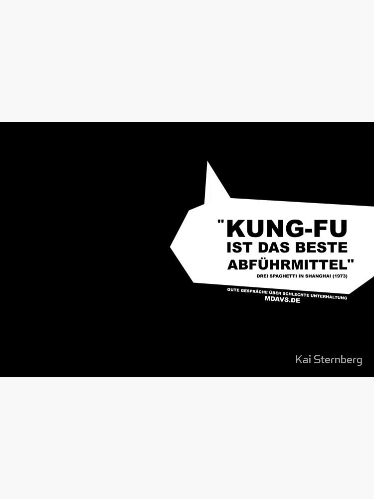 Zitat Deutsch Drei Spaghetti in Shanghai von KaiSternberg