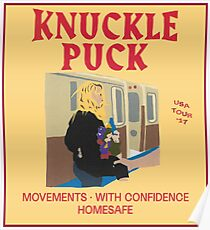 KNUCKLE PUCK  USE TOUR 2017 Poster