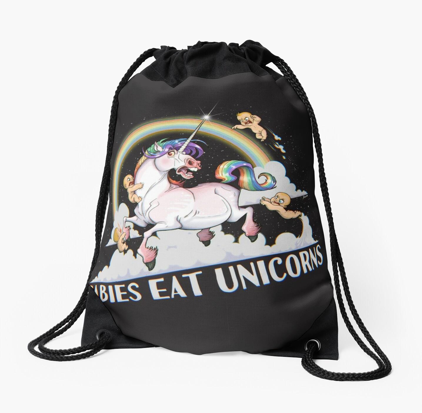Babies eat Unicorns by stieven