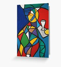 Nights and Days Greeting Card