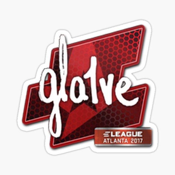 Gla1ve Eleague Major Atlanta 2017 Sticker