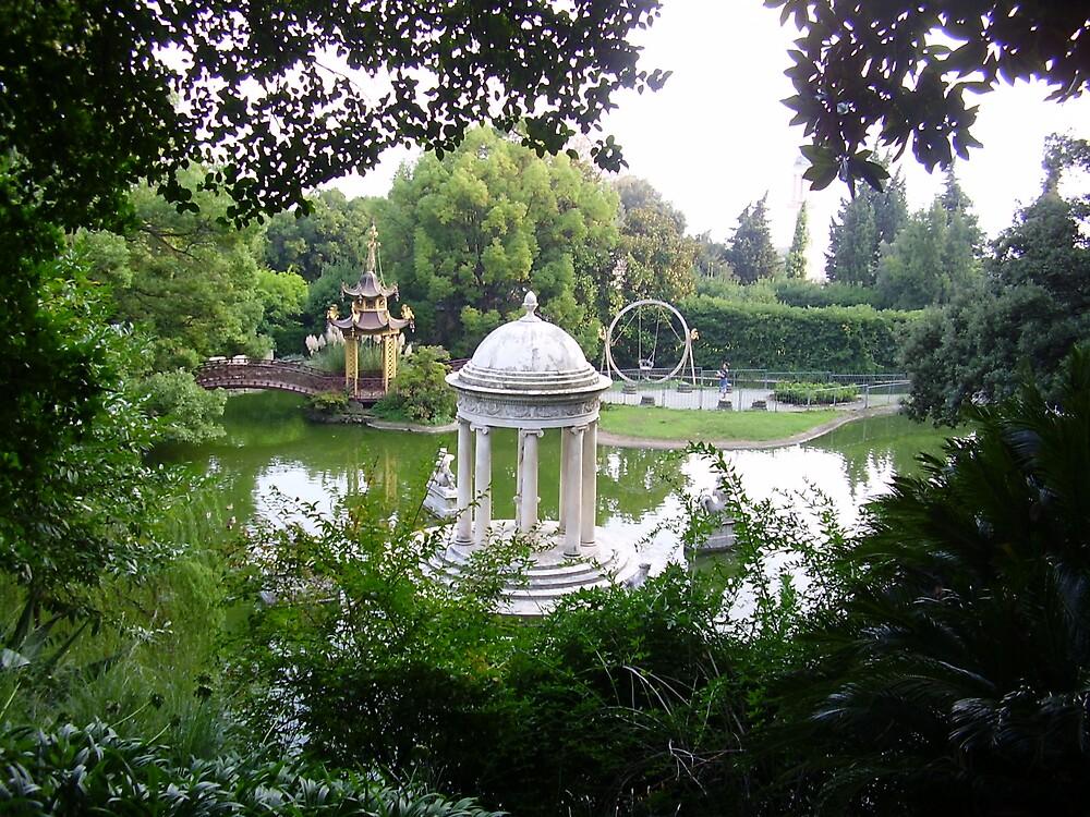 magic secret garden by Sugarchoco