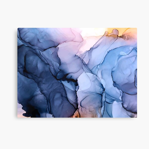 Captivating 1 - Alcohol Ink Painting Canvas Print