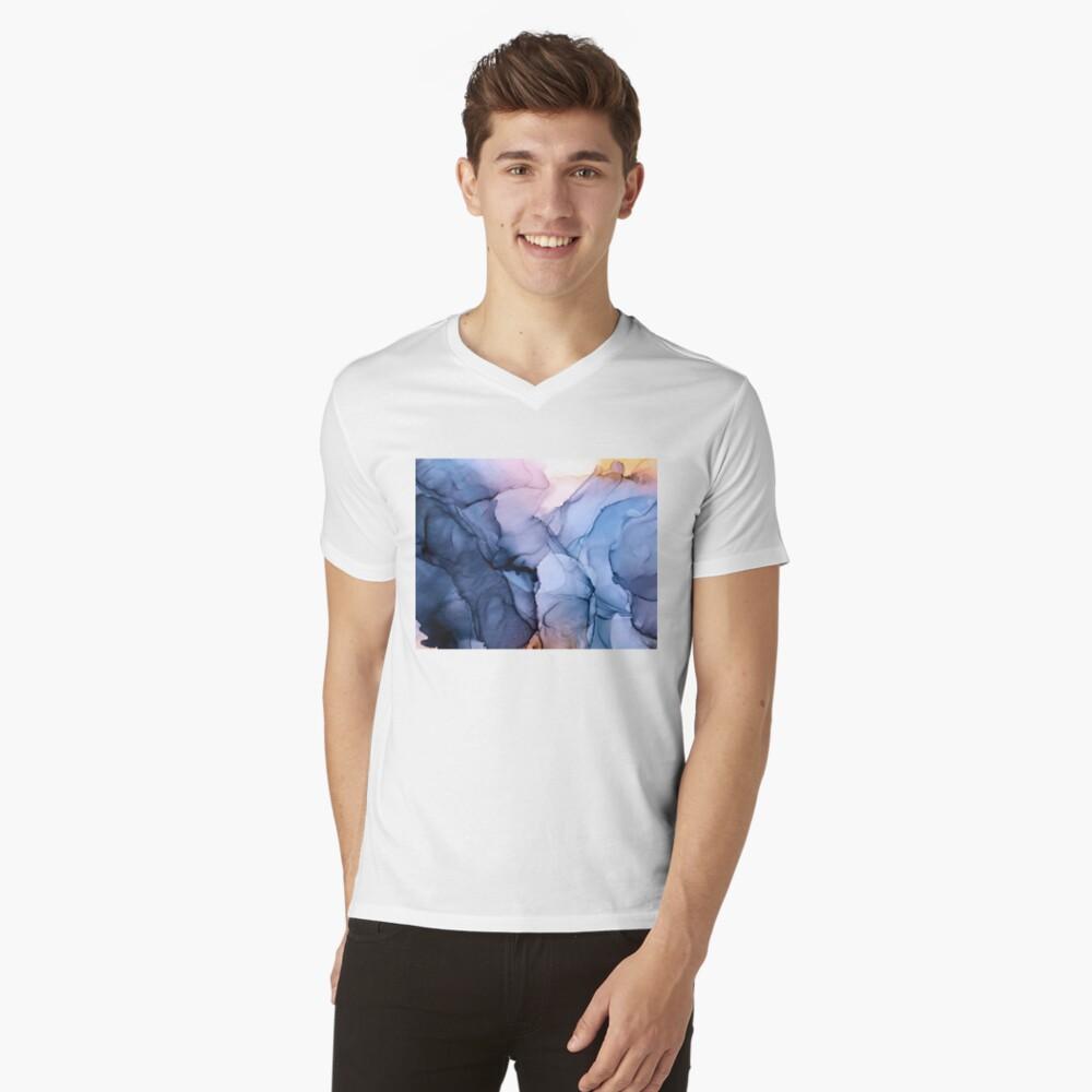 Captivating 1 - Alcohol Ink Painting V-Neck T-Shirt