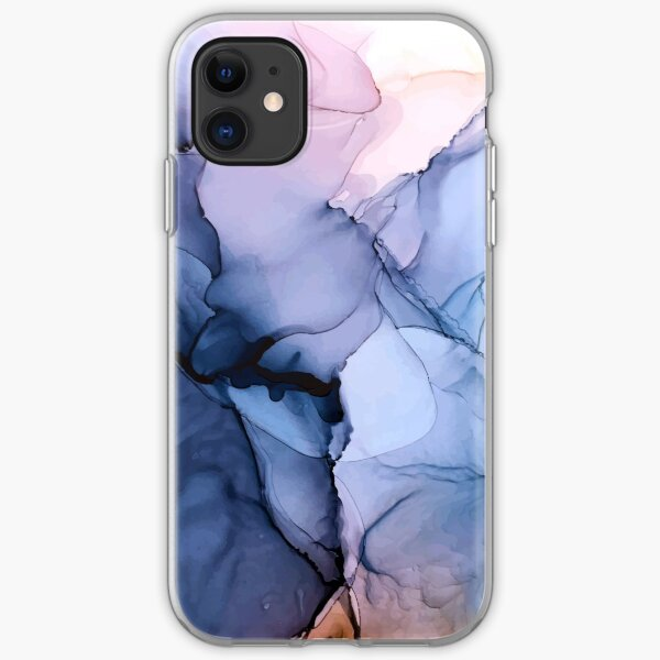 Captivating 1 - Alcohol Ink Painting iPhone Soft Case