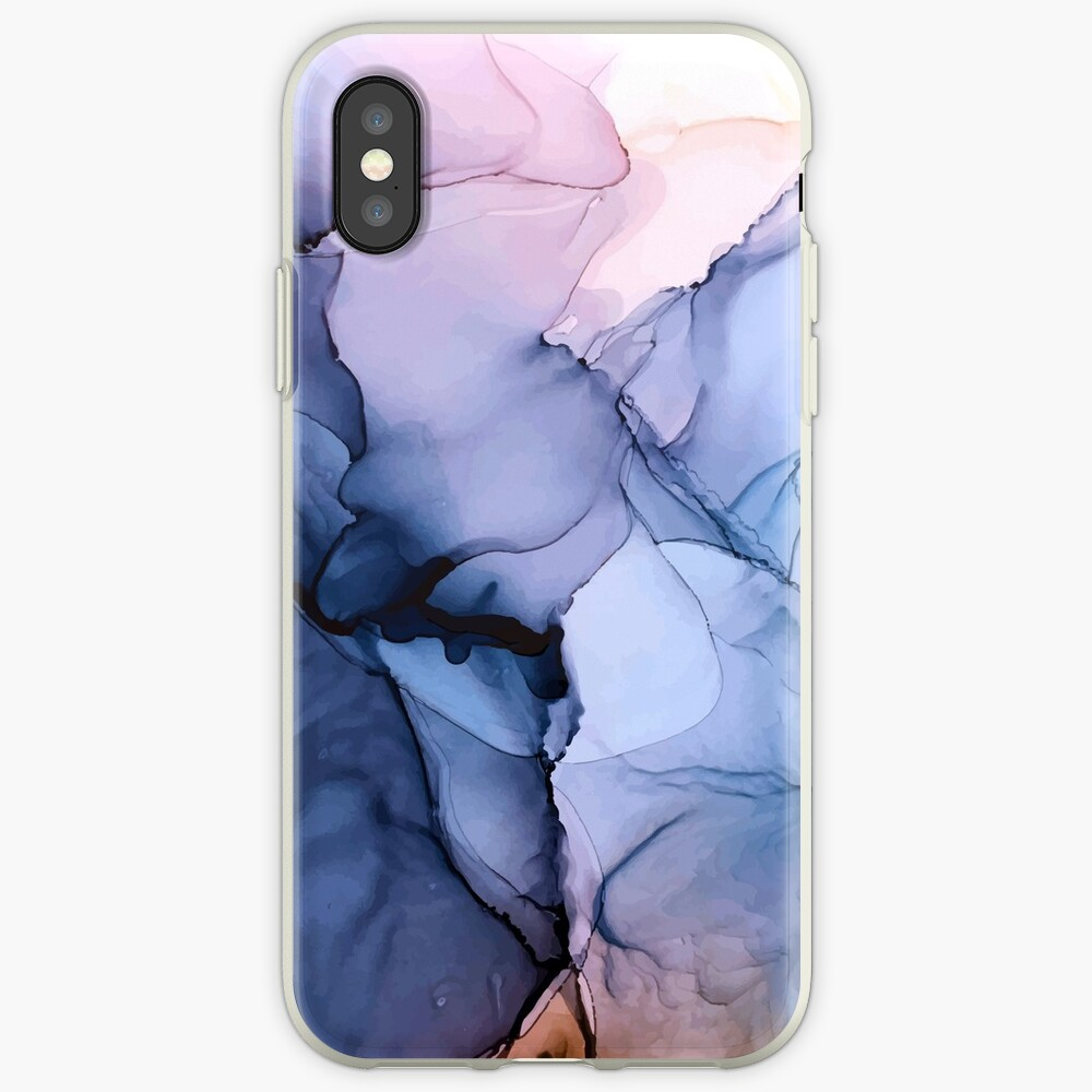 Captivating 1 - Alcohol Ink Painting iPhone Case & Cover