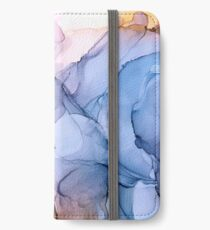 Captivating 1 - Alcohol Ink Painting iPhone Wallet/Case/Skin