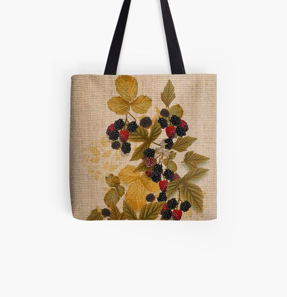 Old Cretonne from Old Nilsson's Farm All Over Print Tote Bag