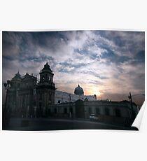 Metropolitan Cathedral of Guatemala Poster