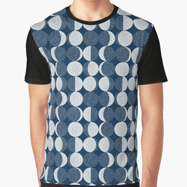 Moon Phases / repeat pattern Graphic T-Shirt