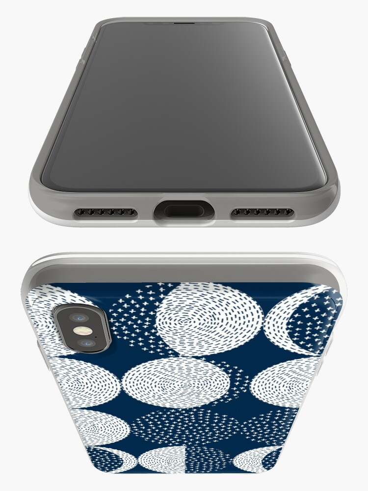 Alternate view of Moon Phases / repeat pattern iPhone Case & Cover