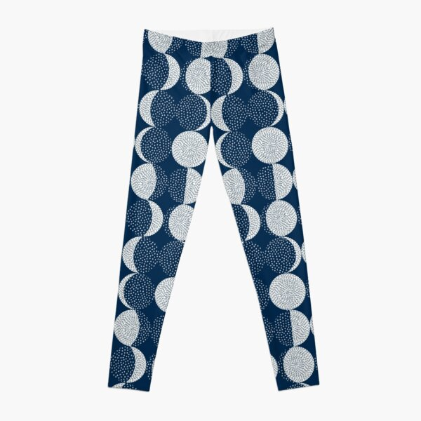 Moon Phases / repeat pattern Leggings
