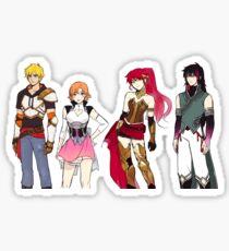 Team JNPR Concept Art Sticker