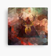 Helix and Stag Canvas Print