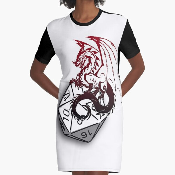 Make your choice Graphic T-Shirt Dress