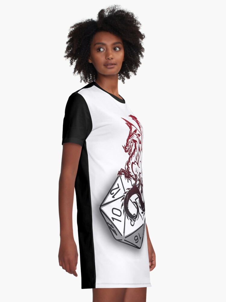 Alternate view of Make your choice Graphic T-Shirt Dress