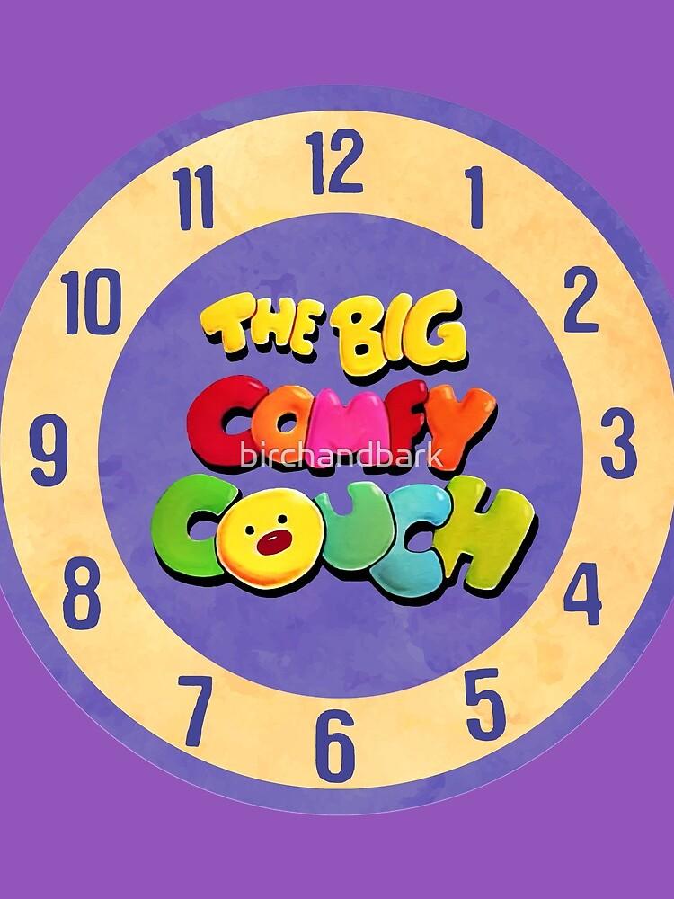 The Big Comfy Couch Clock by birchandbark