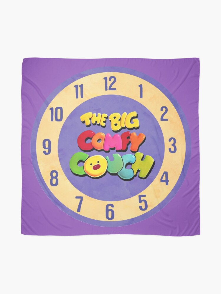 Alternate view of The Big Comfy Couch Clock Scarf