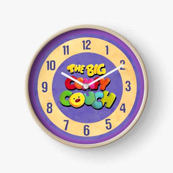 The Big Comfy Couch Clock Clock