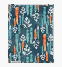 Watercolor carrot repeat iPad Case/Skin