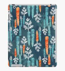 Watercolor carrot repeat iPad Case/Skin