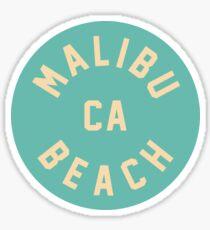 Pegatina Malibu Beach - California
