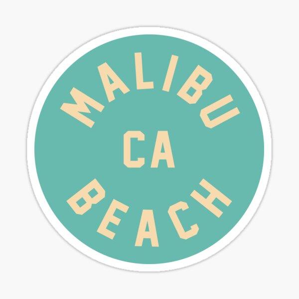Malibu Beach - California Sticker