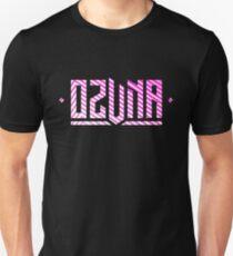 Ozuna Logo Pink White T-Shirt