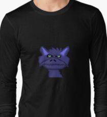 Blue Dragon Head  Long Sleeve T-Shirt