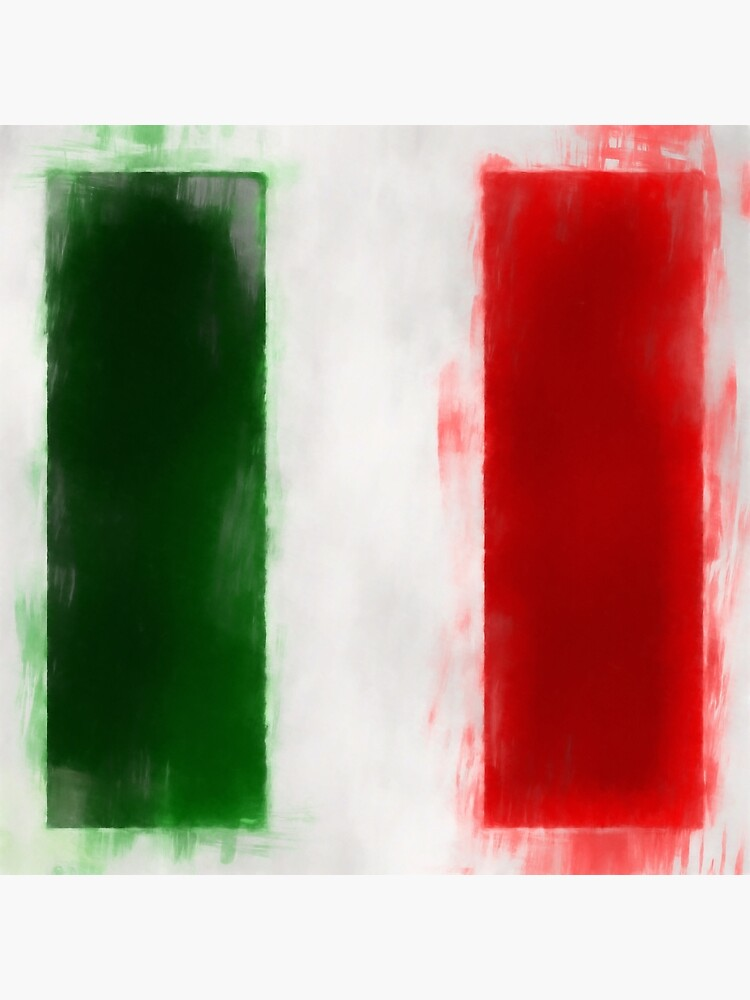 Italian Flag No. 2, Series 1 by 8th-and-f