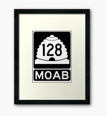 Utah 128 - Moab - SR 126 Framed Print