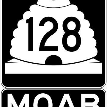Utah 128 - Moab - SR 128 by NewNomads