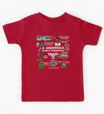 Weihnachtsferien-Collage Kinder T-Shirt