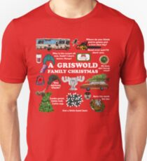Christmas Vacation Collage Unisex T-Shirt