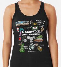 Christmas Vacation Collage Women's Tank Top