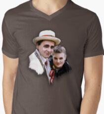 Dorothy and the Professor Men's V-Neck T-Shirt