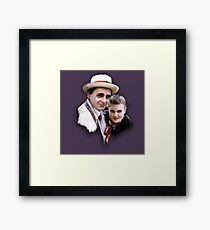 Dorothy and the Professor Framed Print